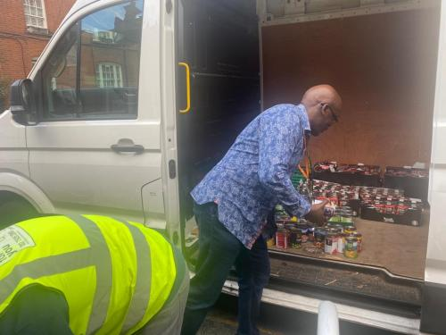 Foodbanks picking up resources