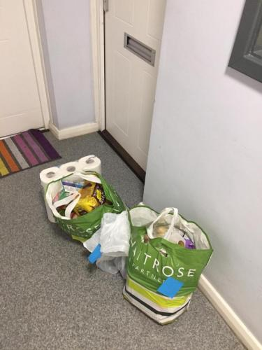 Donations to local residents