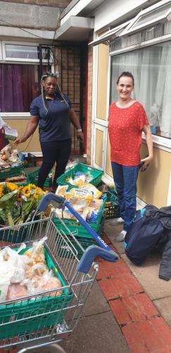 Food bank donations 02/09/2020