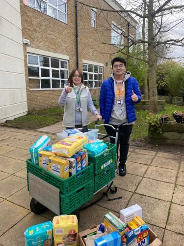 Donations to Fulham Cross academy school for low income families