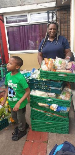Food bank donations 02/09/2020